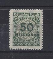 """GERMANY.....WEIMAR......"""" 1923 """"....SG335........MNH. - Neufs"""