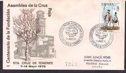 España - 1975 - Cachets Spéciaux - Centenaire De La Fondation De L'Assemblée De La Croix-Rouge - Rotes Kreuz