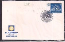 Uruguay - 1998 -  FDC - XVI INCOSAI - Uruguay '98 - Uruguay