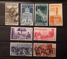 Italia 1946 (Sass. 566-573) Serie Completa  Avvento Della Repubblica - 1946-.. République