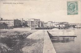 DESENZANO-BRESCIA-LAGO DI GARDA-CARTOLINA VIAGGIATA 1920?- - Brescia