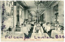 - Nancy - ( Meurthe Et Moselle ), Hôtel De  L'Univers, La Salle à Manger, Cliché Rare, écrite, 1911, TTBE, Scans. - Nancy
