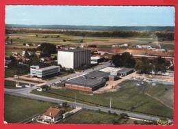 CPM- 65-BAZET - Vue Aérienne - Usine De Céramique - *2 SCANS - France