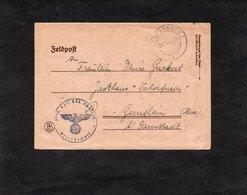 LSC 1944 - FELDPOST Cachet  REGENSBURG 2  Et Cachet Aigle - Alemania