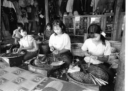 Photo Myanmar Fabrication De Cigares Roulés à La Main Région Du Lac Inle  Photo Vivant Univers - Lieux