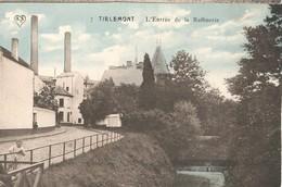 PK, Tirlemont - Tienen, L'Entrée De La Raffinerie Ongebruikt - Tienen