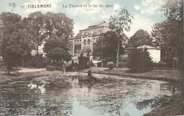 PK, Tirlemont - Tienen, Le Theätre Et Le Lac Du Parc, Ongebruikt - Tienen