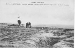 LUNÉVILLE CHAMP DE BATAILLE DE FRESCATI TOMBES FRANÇAISES ET TRANCHÉES - Militaria Guerre 1914-1918 - War 1914-18