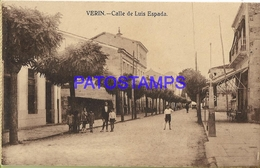 129026 SPAIN ESPAÑA VERIN ORENSE STREET CALLE DE LUIS ESPADA POSTAL POSTCARD - Espagne