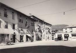 CLES-TRENTO-VAL DI NON-INSEGNA=SALI E TABACCHI=-CARTOLINA VERA FOTOGRAFIA-VIAGGIATA IL 21-7-1965 - Trento