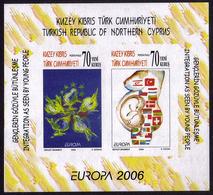 Turquie (Adm.Chypre) BF - Europa CEPT 2006 - Yvert Nr. BF 24a ND - Michel Nr. Block 25 B  ** - 2006
