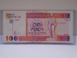 Cuba, $100 Banknotes 2007, CUC, Convertibles, UNC,MINT, CRISP, How You Can See. - Cuba