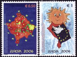 Kosovo - Europa CEPT 2006 - Yvert Nr. 43/44 - Michel Nr. 43/44  ** - 2006