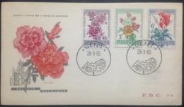 "Belgium, Uncirculated FDC, ""Flora"", ""Floralies Gantoises"", Gent, 1960 - FDC"