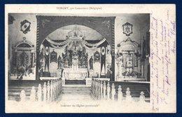 Torgny ( Rouvroy). Intérieur De L'ancienne église Saint-Martin ( Détruite En 1940). 1907 - Rouvroy