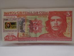 Cuba, $3 Pesos 2006, Ernesto Che Guevara, UNC, CRISP, Mint. How You Can See. - Cuba