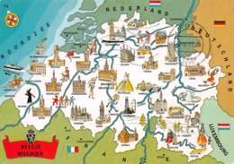 CPM - BELGIQUE (carte- - Altri