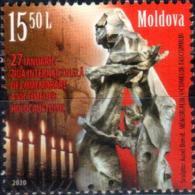 "Moldova 2020 ""27 January - International Day Of Victim Memory Of Holocaust"" 1v  Quality:100% - Moldavie"