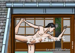 PYB: La Voisine D'en Face #5 [ Nu Nude Femme Yoga CPM ] - Dessins