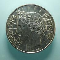 France 100 Francs 1988 Silver - Frankreich