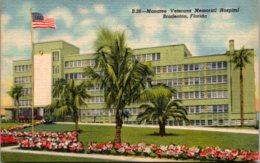 Florida Bradenton Manatee Veterans Memorial Hospital Curteich - Bradenton