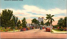 Florida Bradenton Entrance 1951 - Bradenton