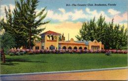Florida Bradenton Country Club 1946 Curteich - Bradenton