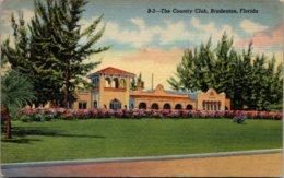 Florida Bradenton Country Club 1949 Curteich - Bradenton