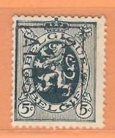 COB 279 Préoblitéré AALST 1930 ALOST Orientation B (used) - Vorfrankiert