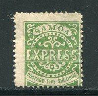 SAMOA- Y&T N°7- Neuf Avec Charnière * (belle Cote!!!) - Samoa
