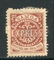 SAMOA- Y&T N°6- Neuf Avec Charnière * (belle Cote Mais Léger Aminci Au Centre) - Samoa