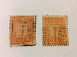 Brussel 1912 Bruxelles Nr 1986 Azz+ Bzz - Precancels