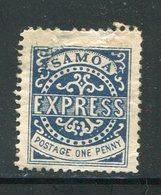 SAMOA- Y&T N°1- Neuf Avec Charnière * (belle Cote!!!) - Samoa