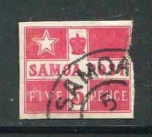 SAMOA- Y&T N°21- Oblitéré (défectueux à Droite) - Samoa