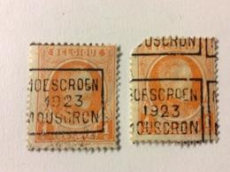 Moescroen 1923 Mouscron Nr 3103 C - Roller Precancels 1920-29