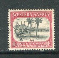 SAMOA- Y&T N°122- Oblitéré - Samoa
