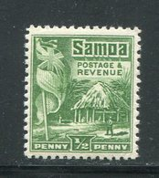 SAMOA- Y&T N°98- Neuf Avec Charnière * - Samoa