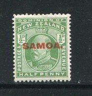 SAMOA- Y&T N°72- Oblitéré - Samoa