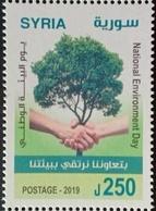 Syria 2019 NEW MNH Stamp - National Environment Day - Tree - Siria