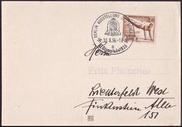Germany - 1936 Ze - Olympic Games 1936 - Card  (Ausstelung Deutschland) - Sommer 1936: Berlin
