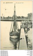 14 HONFLEUR. Un Coin Du Port Bien Animé. Barques De Pêcheurs - Honfleur