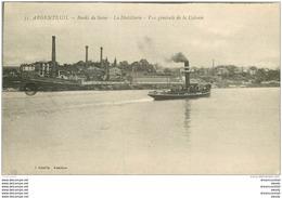 K. 95 ARGENTEUIL. La Distillerie Et Cie Des Bateaux Parisiens 1918 - Argenteuil