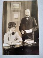 CARTE PHOTO De Gérard Jacob De Geer (1858/1943) Géologue Suédois - Autographe - TBE - Altre Celebrità