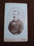 CDV. Portrait Homme - Circa 1880 - Photo Vocoret, Paris - Photos