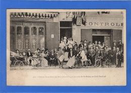22 COTES D'ARMOR - SAINT BRIEUC Course Paris-Brest Du Petit Journal, Le Contrôle Au Café Tardivel (voir Descriptif) - Saint-Brieuc