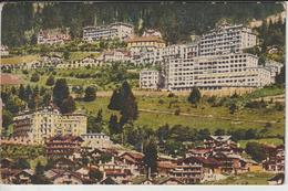 SUISSE VD VAUD LEYSIN FEYDEY LA GARE CHAPELLE CATHOLIQUE ET LES GRANDS HOTELS - VD Vaud