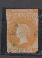 Australia South Australia ASC 4 1855-68 One Shilling Orange,used - Ongebruikt