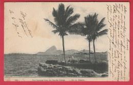 Brazil / Brésil  - Rio De Janeiro - Pao D'Assucar Visto Da Ilha Das Cobras - 1906 ( Always See Reverse ) - Rio De Janeiro