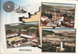 88 - Carte Postale Semi Moderne Dentelée De  BRUYERES  Multi Vues - Bruyeres