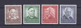 BRD - 1953 - Michel Nr. 173/176 - Postfrisch - 90 Euro - Neufs